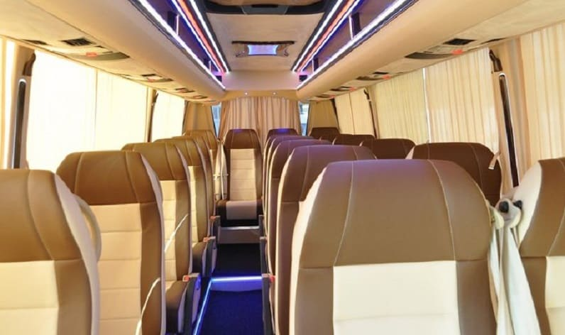 Germany: Coach reservation in Saxony-Anhalt in Saxony-Anhalt and Quedlinburg