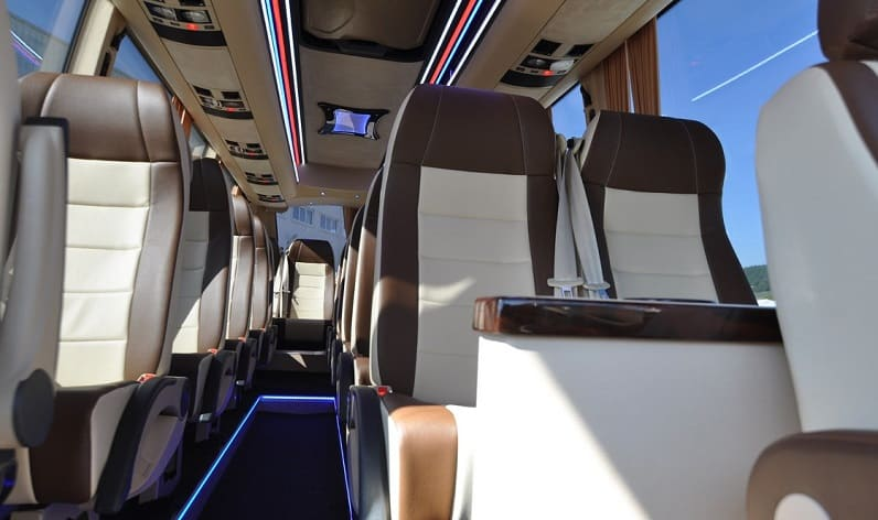 Germany: Coaches charter in Saxony in Saxony and Leipzig