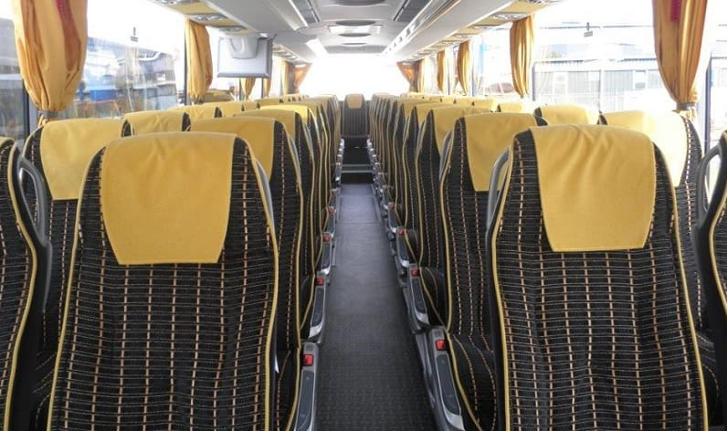 Germany: Coaches reservation in Lower Saxony in Lower Saxony and Wolfenbüttel